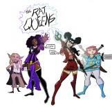 Rat Queens Illustration