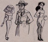 Characters from The Big Sleep