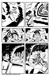 """Pages from my comic """"Tunnel Vision"""""""
