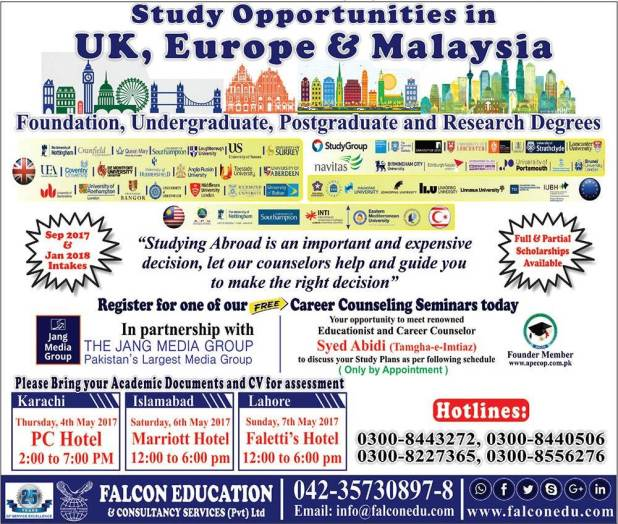 Study Abroad Opportunity UK Europe and Malaysia Admission 2017 in Foundations Undergraduate Postgraduate Degree Programs Apply Online Eligibility Criteria