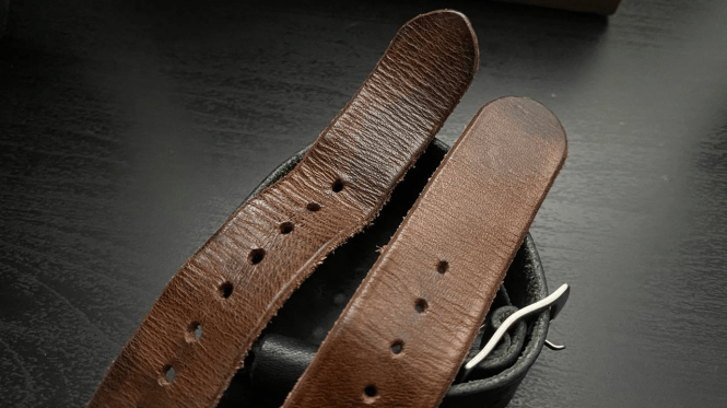 Effect of wear on Vegetable Tanned Leather
