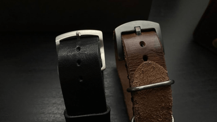 Distressed Buckle vs Stainless Steel from Cozy Handmade