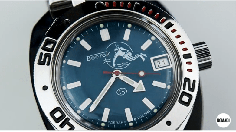 "Vostok Amphibia Model 710 ""Scuba Dude"""