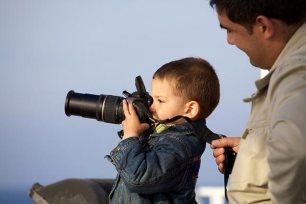 teaching photography to kids