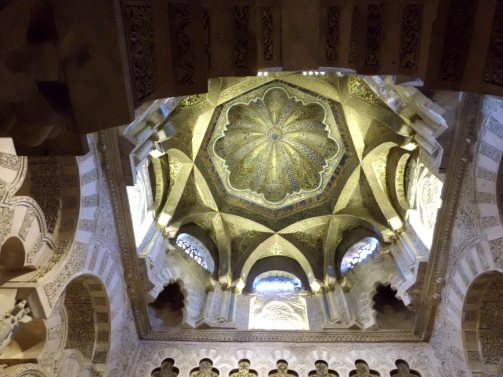 Dome in the Mezquita