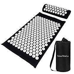 The acupressure mat is great for chronically ill patients who are looking for some tension relief.