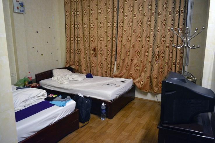 Sad room in the Ha Long Happy Hostel, Ha Long City, Vietnam