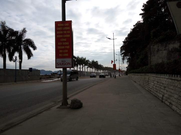 Construction site, Ha Long City, Vietnam