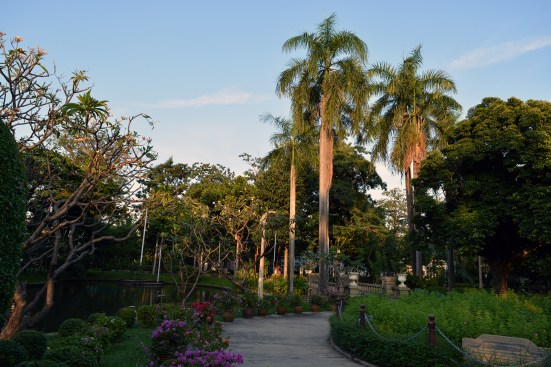 City park in Bangkok, Thailand