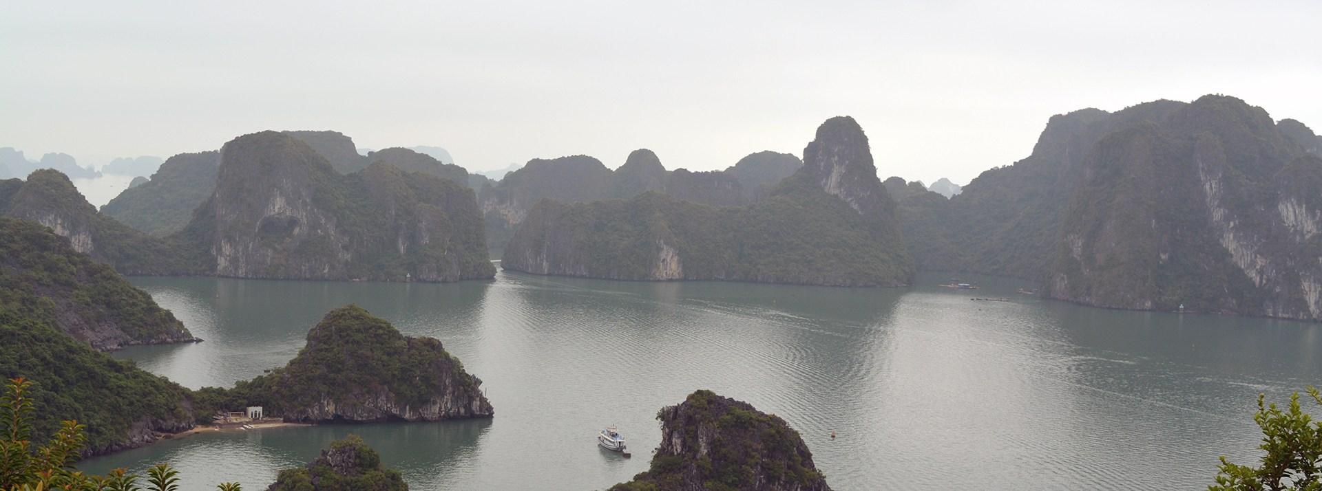 Ha Long Bay, Vietnam — pretty cool still