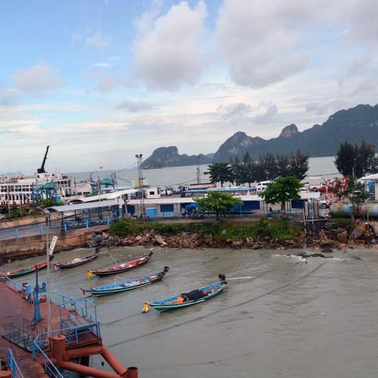 Donsak Pier, Surat Thani, Thailand