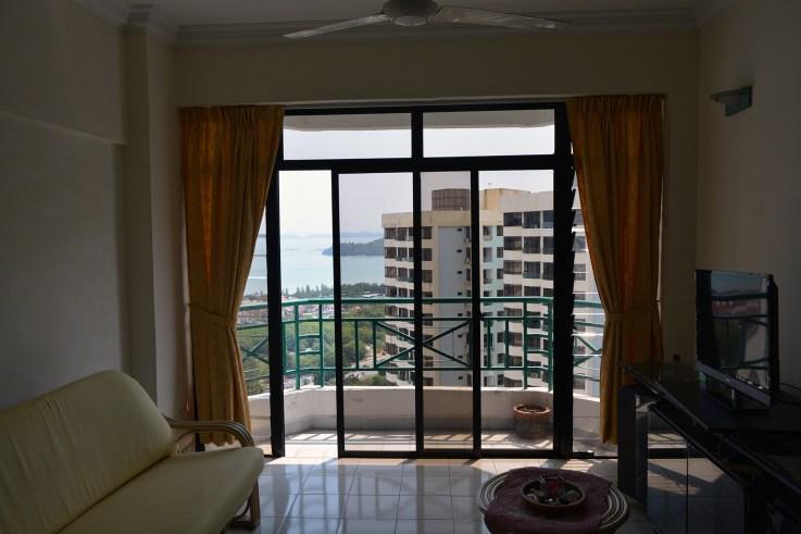 Living room, Sunny Ville Condominium, Penang, Malaysia