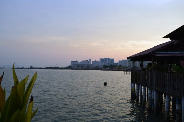 Floating village (Chew Jetty) in George Town