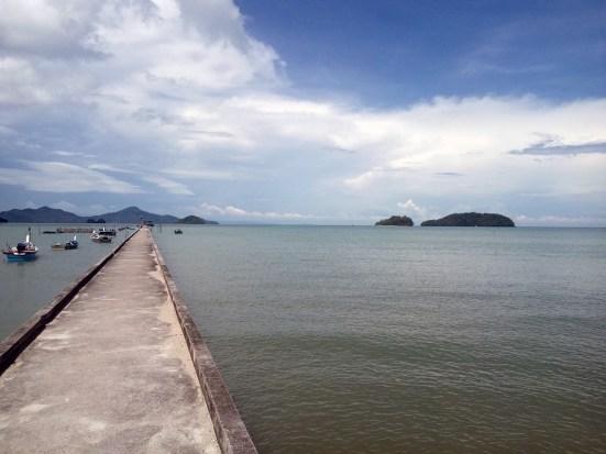 Dock - Tuba island