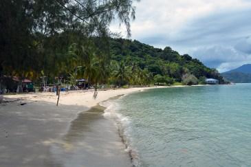 Tuba Island, Wild Pasir Panjang beach
