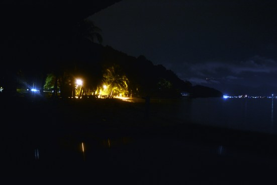Night at Wild Pasir Panjang beach