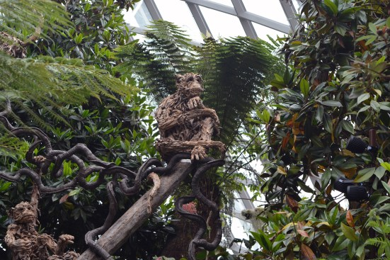In the Cloud Forest at the Gardens by the Bay, Singapore
