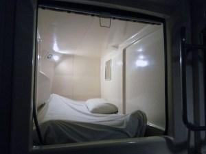 Overnight layover in Manila, in capsule hotel