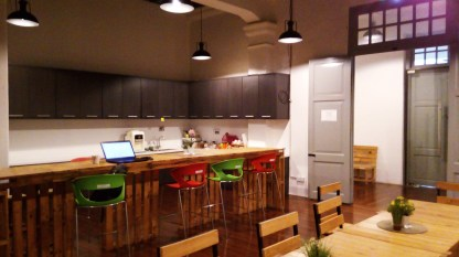 Work from @CAT Penang Coworking space (kitchen) @ George Town, Penang, Malaysia