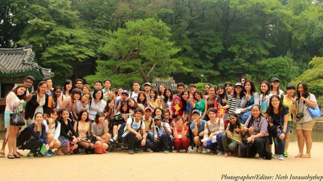 Korean Government Invitation Program for Undergraduate Students from Major Partner Countries 2013 Changdeokgung