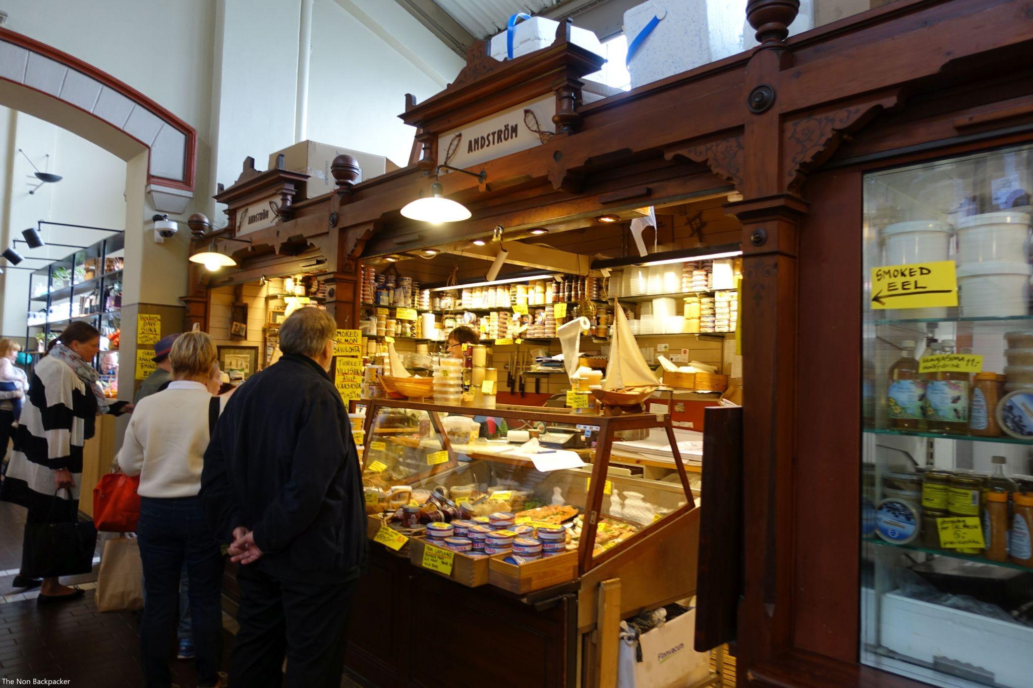 Inside the Old Market Hall