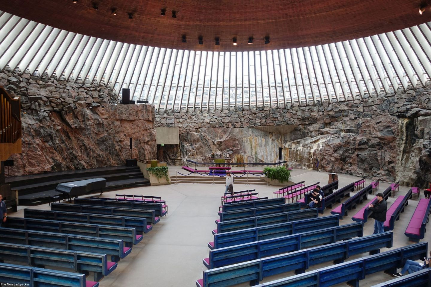 Inside the Rock Church