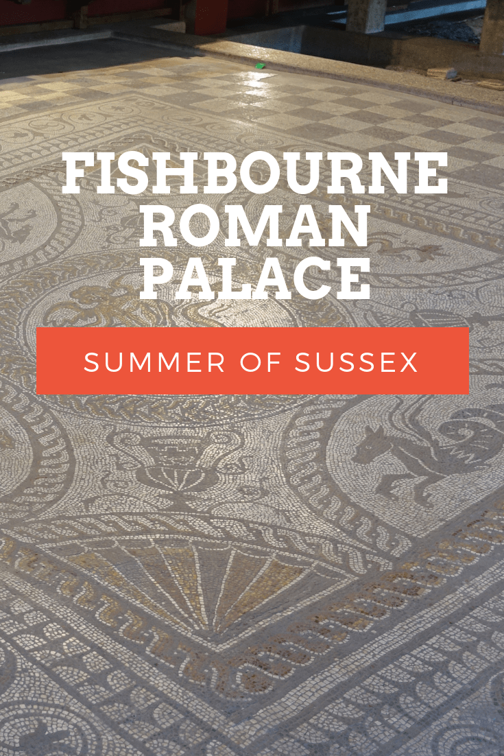 Visiting Fishbourne Roman Palace