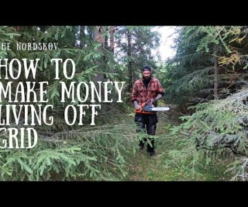 How to make money living off grid
