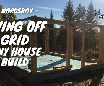 Living off the grid | Tiny house build