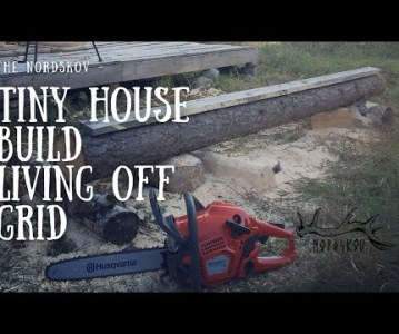 Tiny house build | Living off grid in the woods