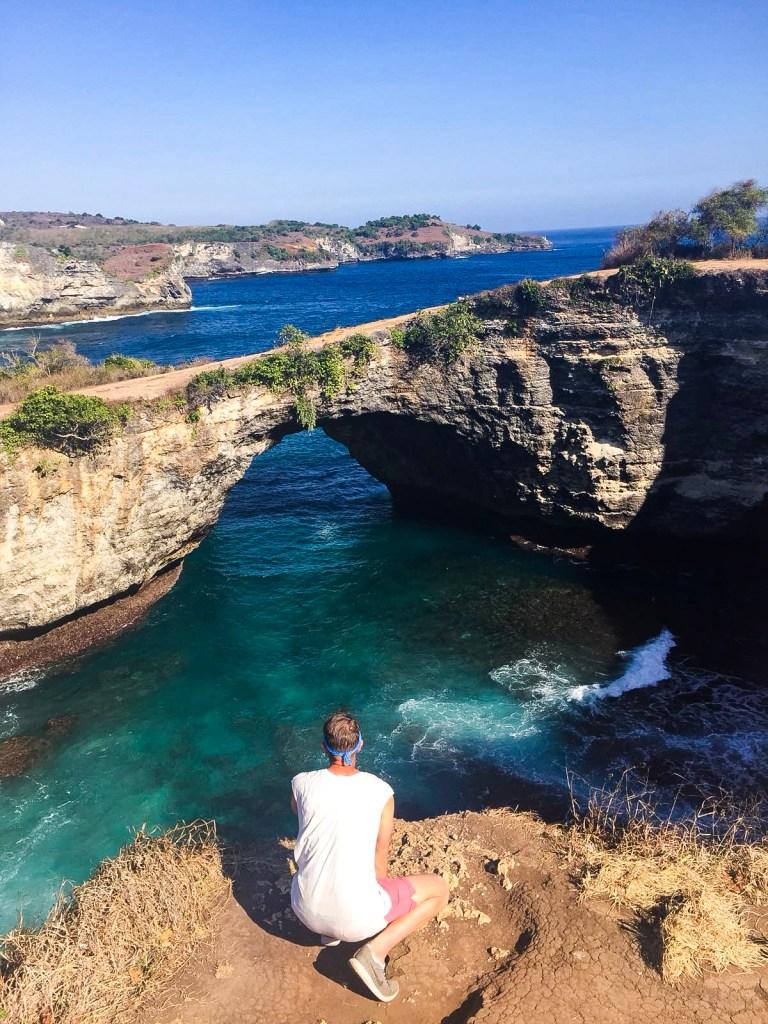 broken beach Bali, broken beach and kelingking beach, kelingking sercret point beach, angels billabong, nusa penida waterfalls, best things to do nusa penida, Kelingking secret point beach