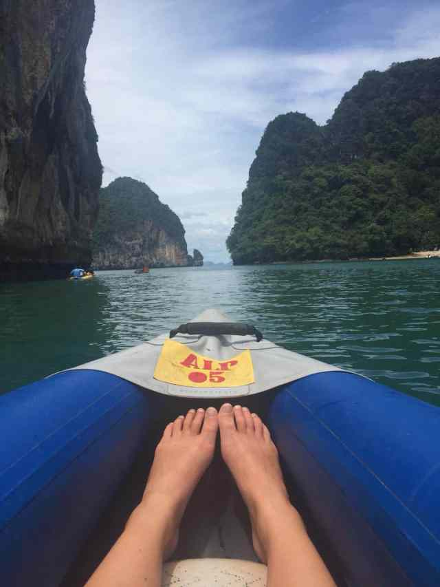kayaking james bond island tour