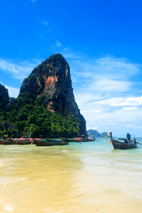Awesome Railay Beach Krabi viewpoint