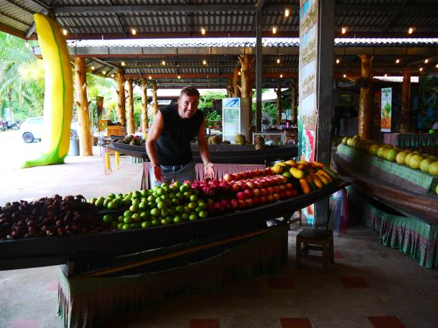 Krabi 1 day tour package fruit
