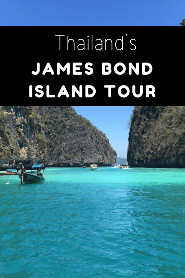James Bond island movie tour Phuket