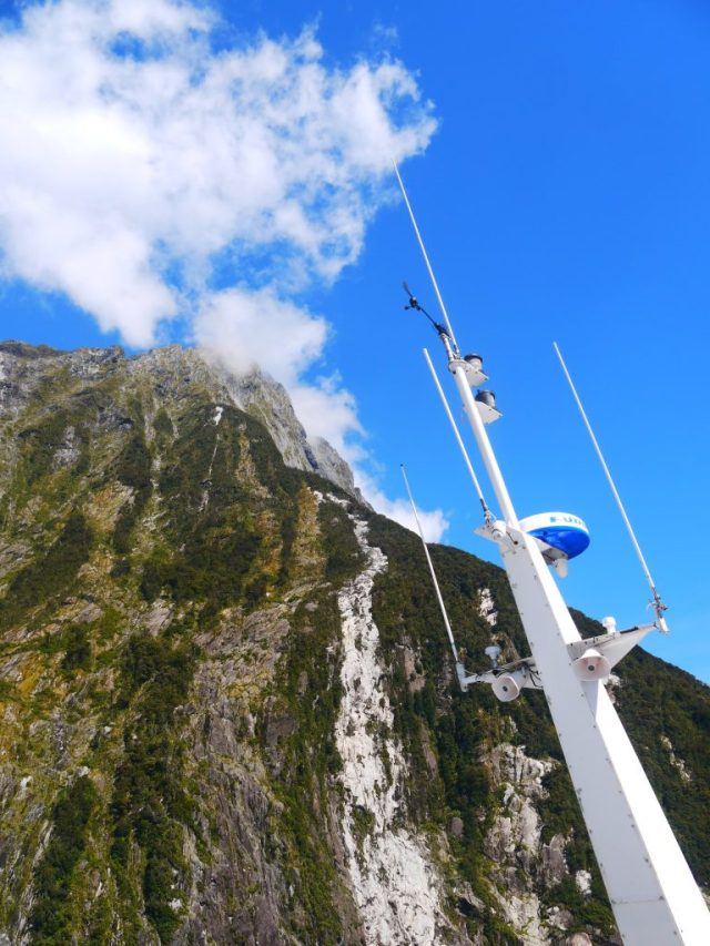 milford sound cruise experience ship