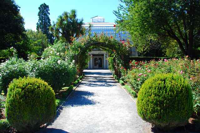 things to do in Christchurch Botanic gardens
