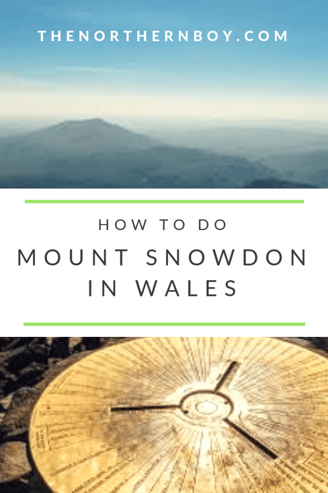 Mount Snowdon walk Wales