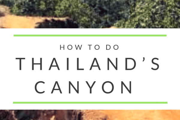 The Pai Canyon adventure in Thailand