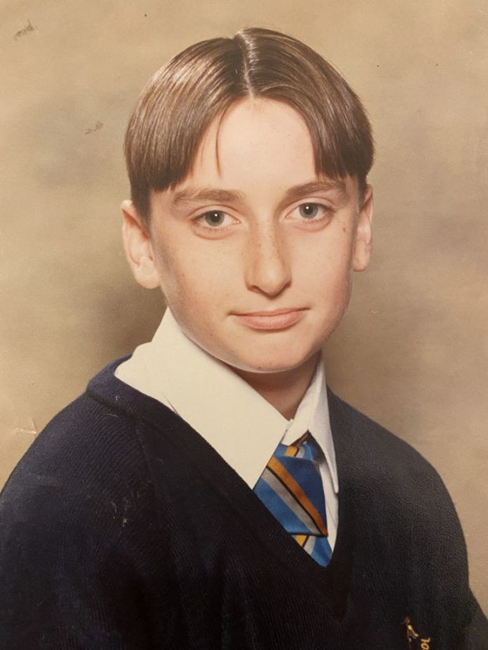 Damion in year 9 secondary school