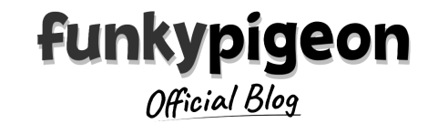 Funky Pigeon Logo Greyscale