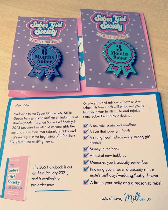 Sober Girl Society Badges