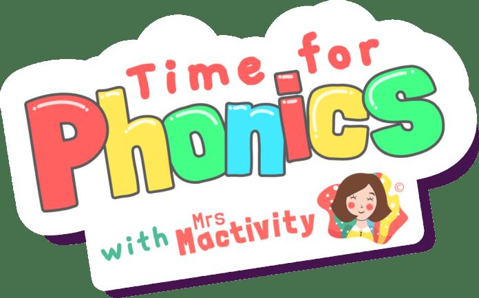 Time for Phonics Logo