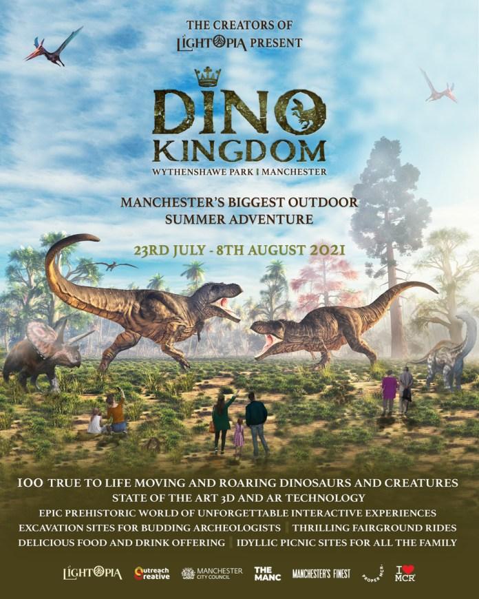 Dino Kingdom Poster