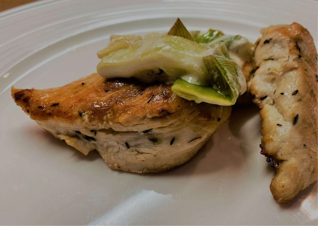 Creamy Leek Chicken