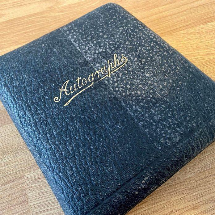 War Time Autograph Book