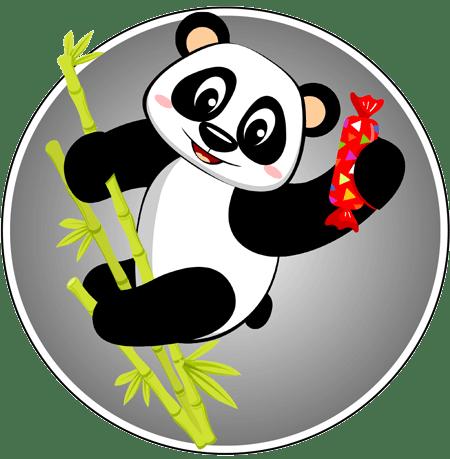 Panda Sweets Logo