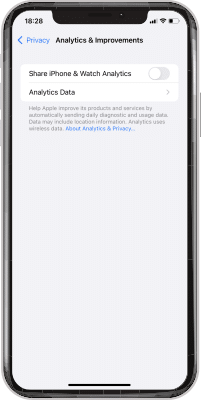 Iphone Analytics And Improvements