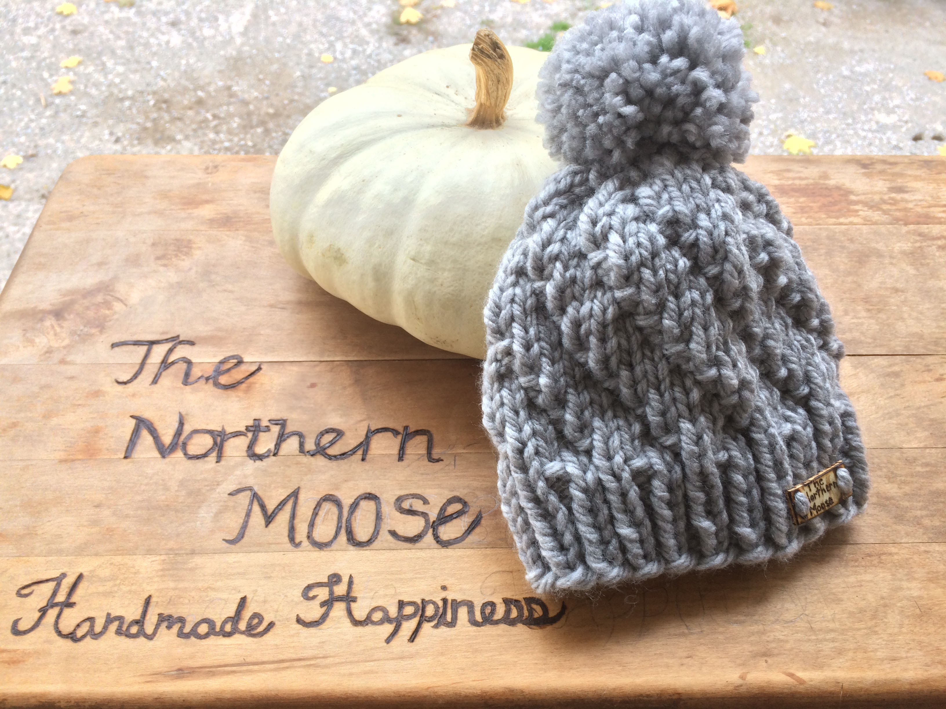 f7e50f6d6ee Spiral Beanie Knit Pattern - The Northern Moose