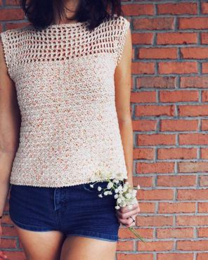 Dreamsicle Tee Crochet Pattern